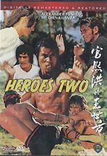 HEROES TWO - Hong Kong RARE Kung Fu Martial Arts Action movie - NEW DVD