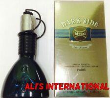 Dark Side Metal By Geparly's Eau De Toilette 3.4oz For Men New In Box