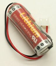 6 X MAXELL ER6C AA 3.6V Battery With Plug For F2-40BL FX2N-48MT PLC