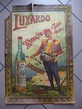 MARASCHINO LUXARDO ZARA AUSTRIA MANIFESTO/POSTER ante 1918 cm.70x48