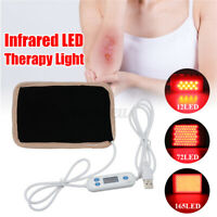 72/165LED USB LED Light Therapy Pad 630nm-660nm Infrared Pain Body Ligth  J r