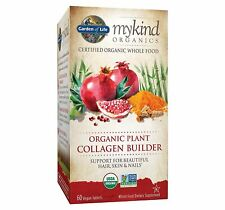mykind Organic Plant Collagen Build 60 Veg By Garden of Life