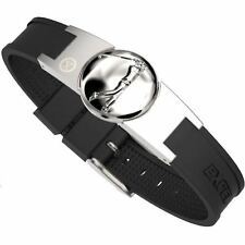 ProExl Golf Magnetic Bracelet in Brushed Steel With Full Swing Detachable Marker
