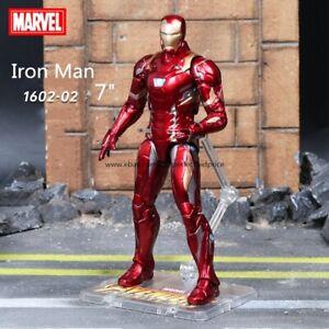 "New Iron Man Marvel Avengers Legends Comic Heroes Action Figure 7"" Kids Toys"