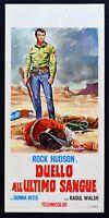 L106 Plakat Duell Zum Letzten Blut ( Gun Fury ) Rock Hudson Frau Reed