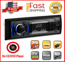 NEW BOSS 612UA Multimedia Car Stereo Receiver Single Din USB AUX AM/FM Radio