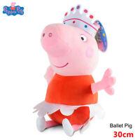 PEPPA PIG PELUCHE SOFT PLUSH PEPPA DANSEUSE POUPÉE 30 CM JOUET