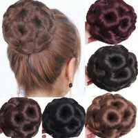 Curly Hair Makeup Bun Chignon Claw Ponytail Hairpiece Heat Resistant Extension r