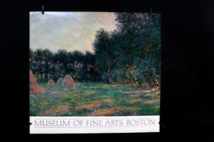 Claude Monet - Meadow with Haystack - Museum of Fine Arts Boston - 1985 - Poster