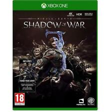 Middle-Earth Shadow of war Xbox One Game NEW & SEALED