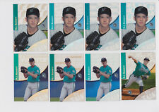 2000 Topps Tek A.J. Burnett #6 (8 different variations)