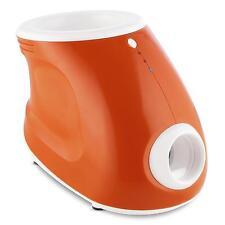 PET BALL THROWER LAUNCHER AUTO MACHINE TOY SMALL BIG ANIMAL LED ORANGE *FREEP&P*