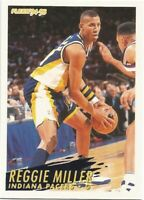 Reggie Miller Fleer 1994/95 NBA Basketball Card #92