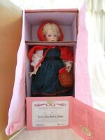 """Paradise Galleries Porcelain Doll Treasure Collection """"Little Red Riding Hood"""""""