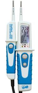 PeakTech® P 1090 Zweipoliger AC/DC-Spannungsprüfer mit LCD-Anzeige  ✔TÜV/GS