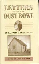 Letters from the Dust Bowl by Caroline Henderson Panhandle Oklahoma Depression