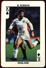B. Robson Inghilterra Re di Picche CALCIO PLAYING CARD (C233)