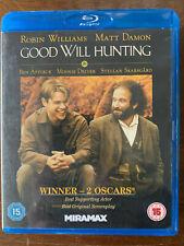 Good Will Hunting Blu ray 1997 Matt Damon Ben Affleck Drama Movie Classic