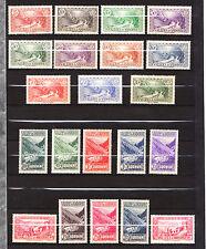 ANDORRE   paysages de la principauté   série de  1937/43   num : 61 a 92  **/*