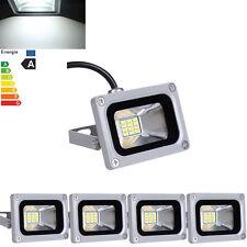 5 X 10W Cool White 12V LED Flood Light Security Outdoor Garden Landscape Lamp
