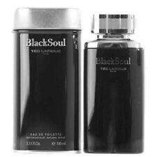 Black Soul By Ted Lapidus Eau De Toilette 3.3 OZ For Men NEW