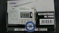 Radio,Weltempfänger WE24806 HERU