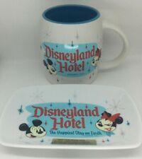 2020 Disneyland Hotel the Happiest Stay on Earth Trinket Tray & Coffee Mug
