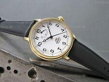 Orient Uhr Monarch Edelstahl Herrenuhr Hand Winding Men's Watch FDD03001W0