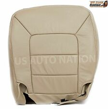 2003-2006 Ford Expedition Limited XLS XLT Driver Bottom Leather Seat Cover Tan