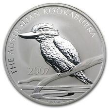2007 Australia 2 oz Silver Kookaburra