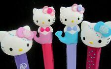 NEW 2019 European Hello Kitty MERMAID Pez Set, Fast $3.99 Ship to U.S.