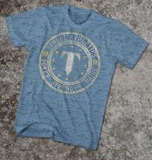 Torque Power Strength Pride T-Shirt (Blue) - S - mma bjj ufc