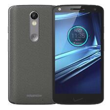 Motorola Droid Turbo 2 - 32GB-Gris/nylon balístico-Desbloqueado-Teléfono inteligente