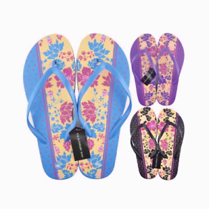 Ladies Womens Flip Flop Sandals Casual Summer Beach Soft Footwear UK Size 3 To 7