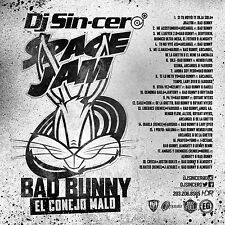 DJ SINCERO BAD BUNNY CONEJO MALO Reggaeton Latin Spanish Trap Mixtape CD MIX
