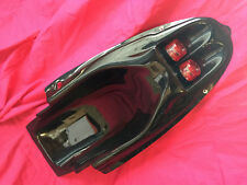 BLACK Undertray with twin red lights for Suzuki GSXR 600 750 SRad 1996 1999