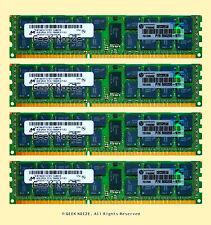 Server RAM 32GB 4x 8GB PC3L-10600R ECC REG DDR3L 1333MHz 2Rx4 240-pin Memory LOT