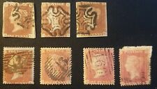 Duzik: Gb Qv Mixed Unchecked Used Stamps (No704)*