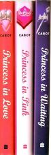 3 Princess Diaries by Meg Cabot Princess in Love - In Pink - In Waiting  3, 4,5