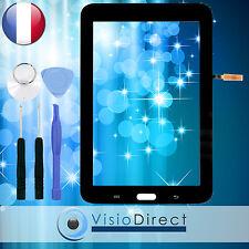 """Vitre ecran tactile pour Samsung Galaxy Tab 3 Lite 7.0"""" T110 noir + outils"""