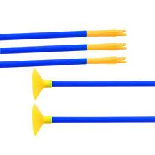 24pcs Kids Blue Sucker Arrows Children Archery Recurve Bow Garden Games Toy Gift