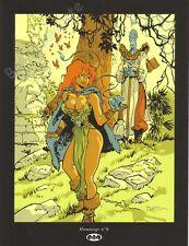 Ex-libris Félix MEYNET Hommage 6 à Pélisse Loisel Sérigraphie signé 20,5x26,7 cm