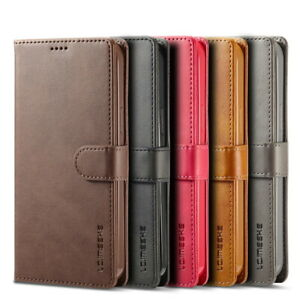 For iPhone 13 12 Pro Max 11 XS X XR 8 7 Flip Leather Wallet Card Slot Case Cover