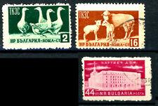 Bulgaria _ 1955. mi N. 935-940 settori economici