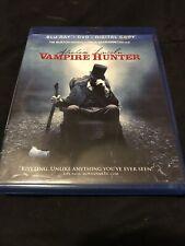 Abraham Lincoln: Vampire Hunter(Blu-ray+DVD, 2012)Very Good Condition-Tim Burton