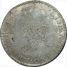 Mexico 8 Reales Zs 1818 A.G. Zacatecas, War of Independence, KM# 111.5
