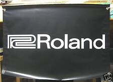 ROLAND AMP BANNER - LARGE 3X2 QUALITY - ROLAND PEDAL