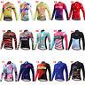 Miloto Women's Long Sleeve Cycling Jersey Top Ladies Bike Cycle Shirt S-XXXL