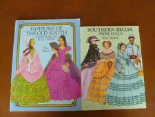 Fashions of the Old South Paper Dolls/Southern Bells Paper Dolls Tom Tierney