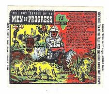 Anglo Wax Wrapper Men Of Progress #13 Scottish Africa Explorer David Livingstone